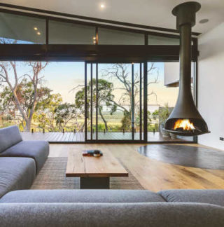 Villa im australischen Busch