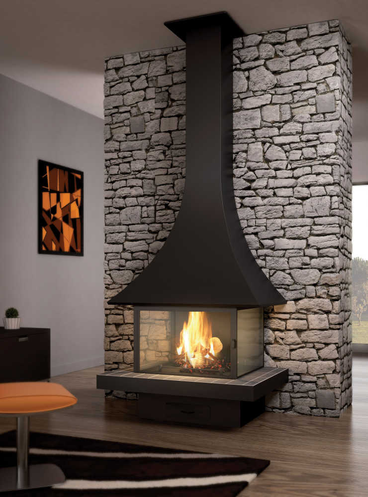 A Free Standing Fireplace For Your Living Room Jc Bordelet
