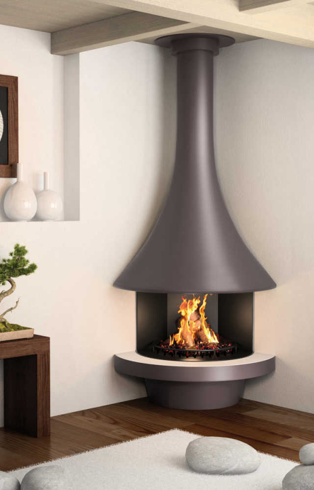 Designer Corner Fireplaces Jc Bordelet