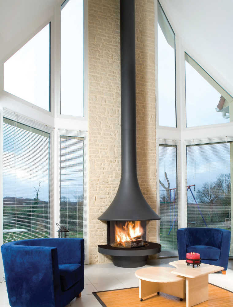 Design Kamin JC Bordelet EVA 992 GAS
