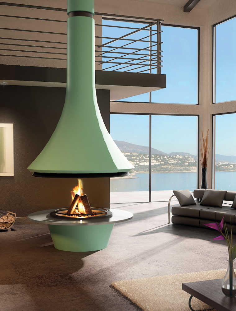 design fireplaces JC Bordelet EVA 992