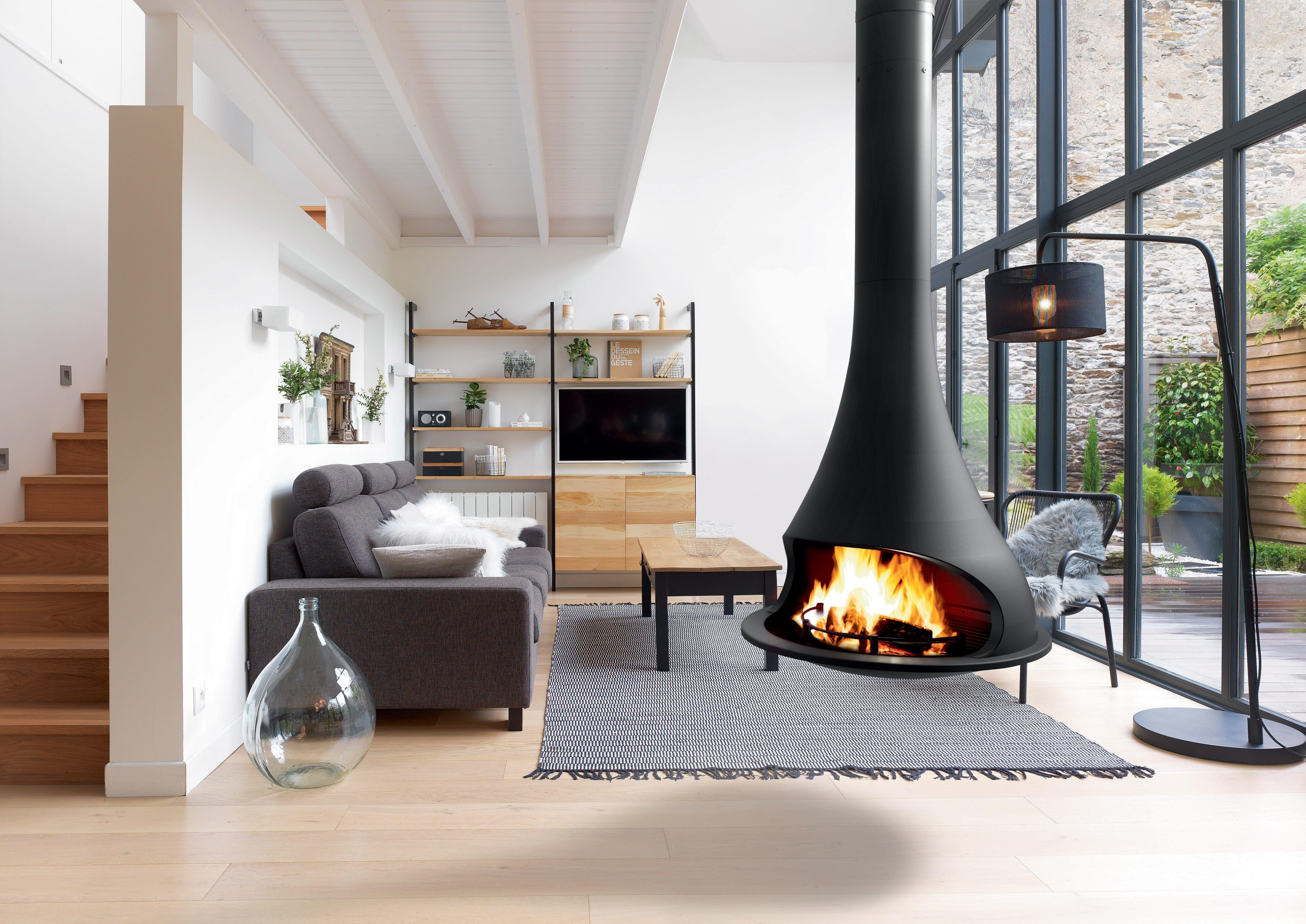 Poele A Bois Gain De Place comment nettoyer une cheminée ou une poêle design ? | bordelet